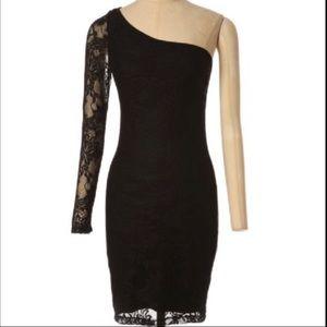 Kismet Lace One Shoulder Dress